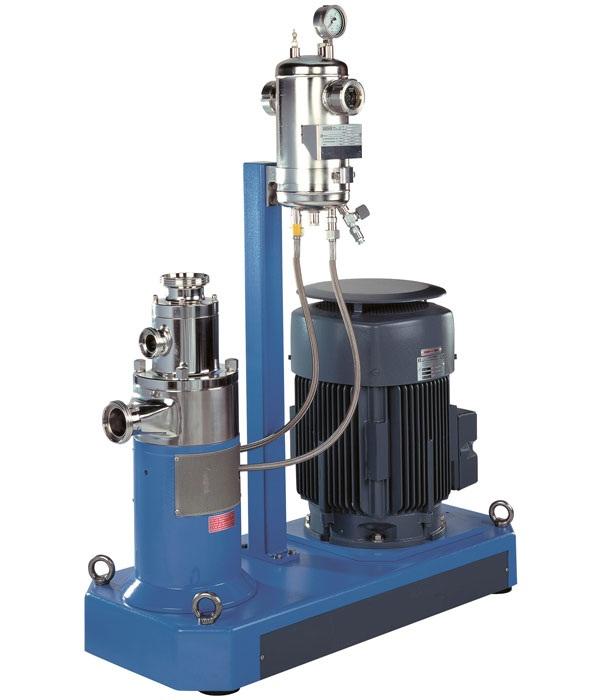 固液分散混合機,,在線式粉液分散乳化機