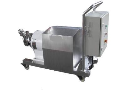 固/液分散混合系統,軟管吸料式粉液混合