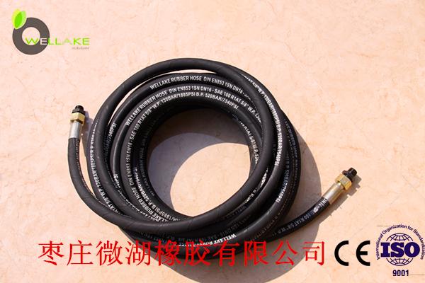 Φ16钢丝编织风炮管